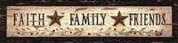 Faith* Family* Friends Fine-Art Print