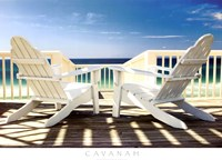 Deck Chairs Fine-Art Print