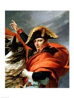 Napoleon Crossing the Alps, detail Fine-Art Print
