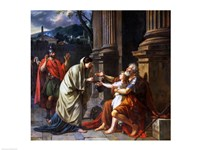 Belisarius Begging for Alms, 1781 Fine-Art Print