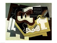 Guitar and Clarinet, 1920 Fine-Art Print