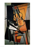 The Violin, 1916 Fine-Art Print