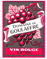 Vin Rouge Red Grapes Fine-Art Print