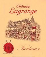 Chateau Lagrange Bordeaux Fine-Art Print