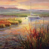 Sunset Marsh Fine-Art Print