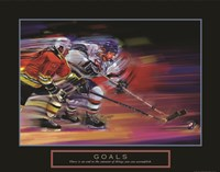 Goals - Hockey Fine-Art Print