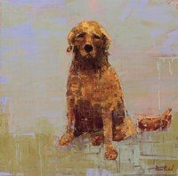 Golden Dog No. 2 Fine-Art Print
