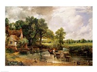 The Hay Wain, 1821 Fine-Art Print