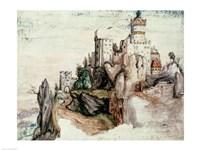 Fortified Castle Fine-Art Print