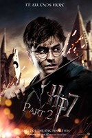 Harry Potter and the Deathly Hallows (part II) Wall Poster