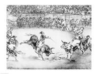 The Famous American, Mariano Ceballos, 1825 Fine-Art Print