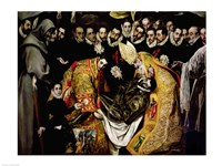The Burial of Count Orgaz Fine-Art Print