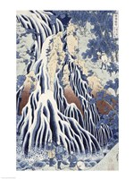Kirifuri Fall on Kurokami Mount Fine-Art Print