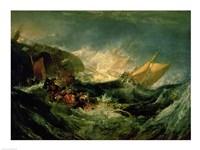 Wreck of a Transport Ship Fine-Art Print