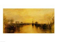 Chichester Canal, c.1829 Fine-Art Print