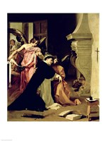 Temptation of St.Thomas Aquinas Fine-Art Print