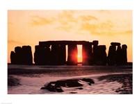 Stonehenge, Winter Solstice Fine-Art Print