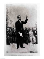 Lincoln's Address at Gettysburg, 1895 Fine-Art Print