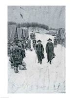 Washington and Steuben at Valley Forge Fine-Art Print