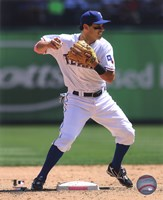Ian Kinsler 2011 Action Fine-Art Print