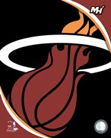 Miami Heat Team Logo Fine-Art Print