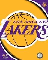 Los Angeles Lakers Team Logos Fine-Art Print