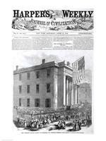 The Abraham Lincoln School for Freedmen Fine-Art Print