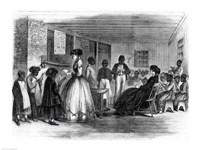 The Misses Cooke's schoolroom Fine-Art Print