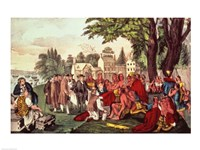 William Penn's Treaty with the Indians Fine-Art Print