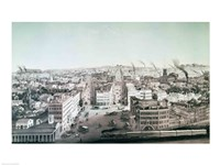 View of Utica City, New York State Fine-Art Print