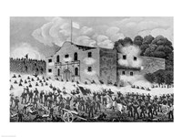 The Siege of the Alamo Fine-Art Print