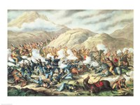 The Battle of Little Big Horn, June 25th 1876 Fine-Art Print