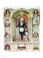 George Washington as a Freemason Fine-Art Print