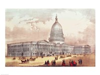 United States Capitol, Washington D.C. Fine-Art Print