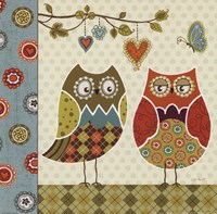 Owl Wonderful I Fine-Art Print