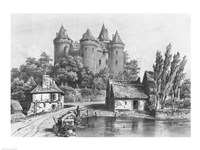The Castle of Combourg Fine-Art Print