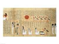 Mythological papyrus of Imenemsaouf Fine-Art Print
