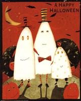 Happy Halloween Ghosts Fine-Art Print