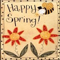 Spring Bumble Bee Fine-Art Print