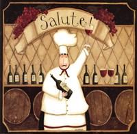 Salute Chef Fine-Art Print