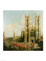 Procession of the Knights of the Bath Fine-Art Print