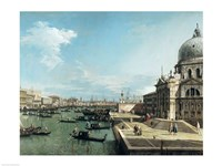 The Entrance to the Grand Canal and the church of Santa Maria della Salute, Venice Fine-Art Print