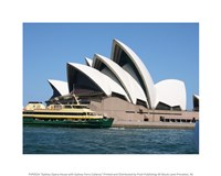 Sydney Opera House with Sydney Ferry Collaroy Fine-Art Print