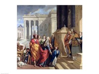 Presentation of the Virgin in the Temple Fine-Art Print