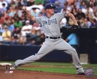 Mat Latos 2011 Action Fine-Art Print