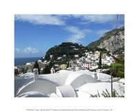 Capri White Roof Fine-Art Print