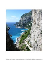 Capri Coastline Photograph Fine-Art Print