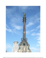 Columbus Column Barcelona Fine-Art Print