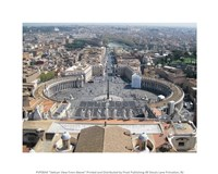 Vatican View From Above Fine-Art Print