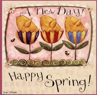 Spring Chick Tulips Fine-Art Print